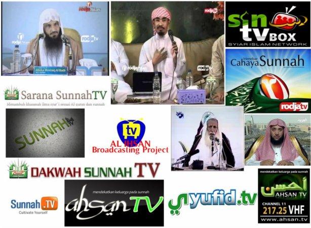 Stasiun TV & siaran TV Wahabi - Salafy, sungguh kontradiksi dengan ajaran yang mereka anut