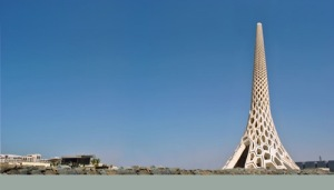 Breakwater beacon saudi arabia