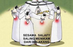 permusuhan salafy
