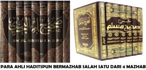 AHLI HADITS BERMAZHAB SYAFI'I
