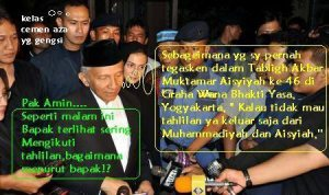 Amin Rais Tahlilan