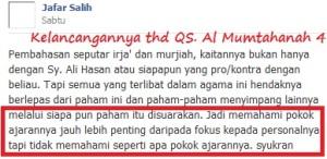 kelancangan-jafar-shalih-thdp-QS-Al-Mumtahanah-4