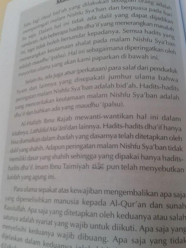 Kebohongan Wahabi-Salafy mencatut Ibnu Rajab