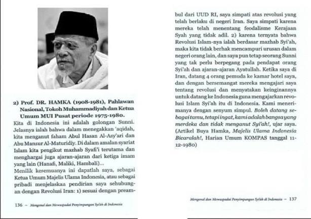 Aqidah Hamka & Mazhab Fiqhnya