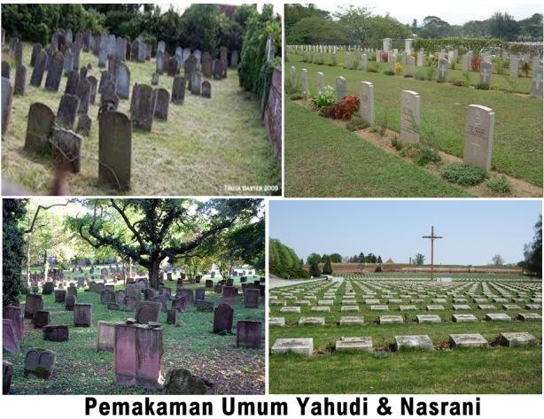 Pemakaman Yahudi & Nasrani