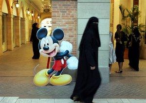 Di Arab Saudi - Fatwa tentang haram mickey mouse