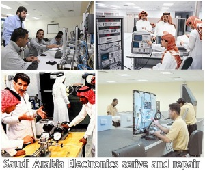 Teknisi Elektronik Arab Saudi