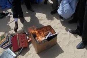 Memprihatikan: Kitab-kitab madzhab Maliki yang dibakar