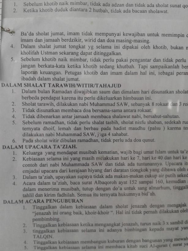 Berbohong & memfitnah Kyai demi melegalkan ajaran Salafy Wahabi-01