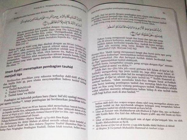Manipulasi Salafy-wahabi Imam Syafi'i tidak pernah mengakui konsep tri tauhid-00