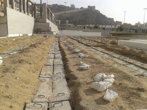 Kuburan di Arab Saudi yang mayyitnya akan di pindahkan