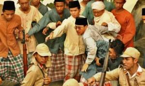 ilustrasi KH. Hasyim Asyari dalam Film Sang Kiai
