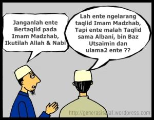 Anti Taqlid Madzhab