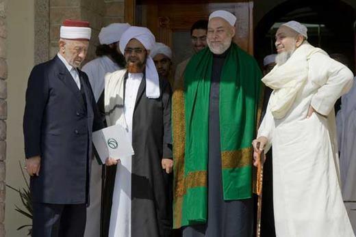 Bersama dengan Syekh Al buti, Habib Umar & Syekh Ali Jumu'ah