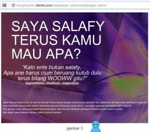 Wallpaper Salafy yang bertebaran di jagat Internet