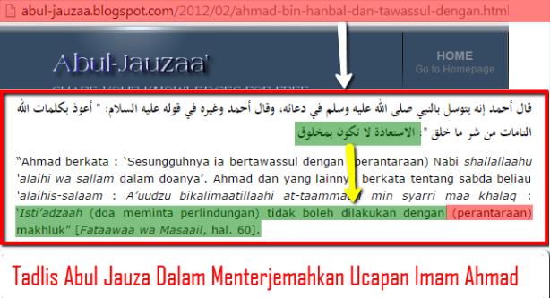 Tadlis_Ust._Abul_Jauza_Dalam_Menterjemahkan_Ucapan_Imam_Ahmad