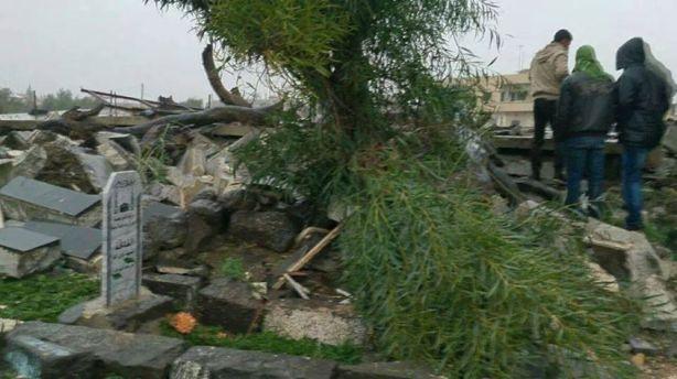 Makam Imam Nawawi di Hancurkan-00