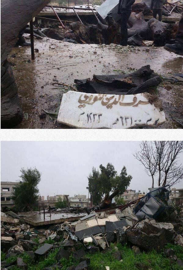 Makam Imam Nawawi di Hancurkan-02
