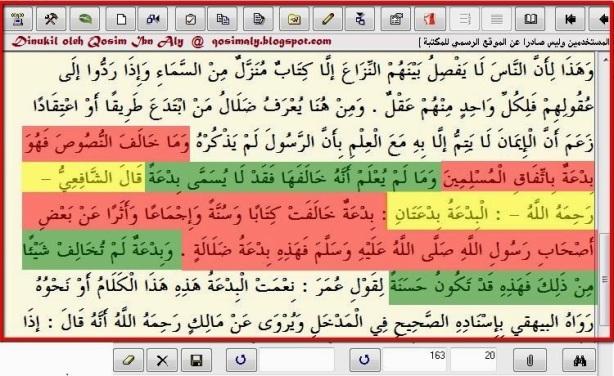 Pembagian Bidah Fersi Ibn Taimiyah