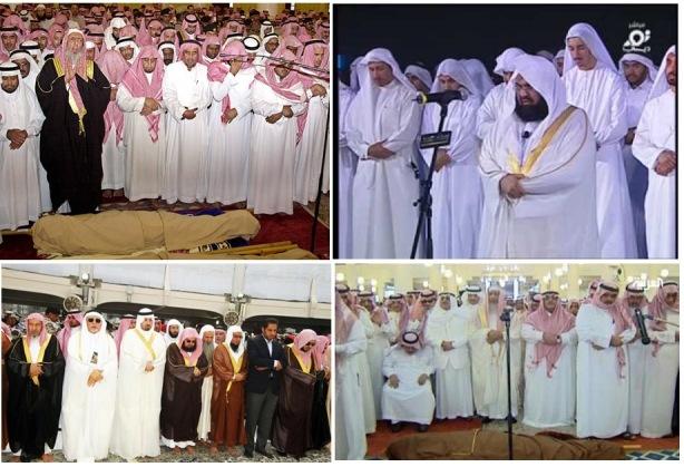 Posisi sedekap mufti & Imam masjid Arab Saudi