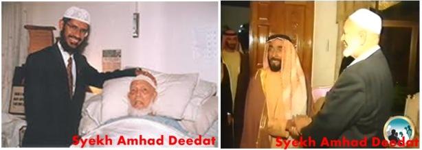 Dr. Zakir & Syekh Ahmad Deedat, aktif dakwah di Gereja & berhasil mengislamkan mereka