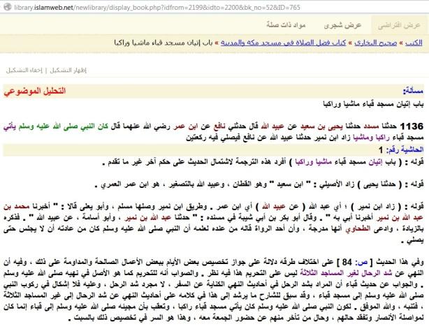 Tahrif kitab Fathul Bari