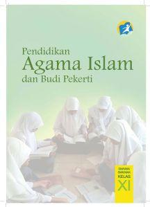 Cover Buku Pendidikan Agama Islam yang di susupi ajaran Wahabi-Salafy