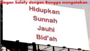 Motto Salafy - Hidupkan Sunnah Jauhi Bid'ah