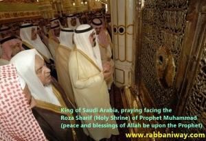 Raja Saudi Ziarah