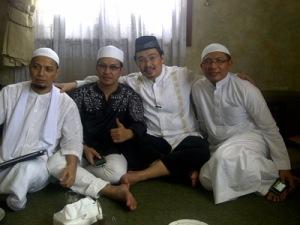 Silaturahmi dengan Ust.Jefry dan Ust.Arifin Ilham