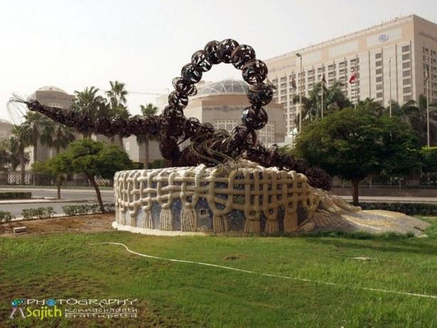 Tugu Tasbih di Jeddah - Arab Saudi