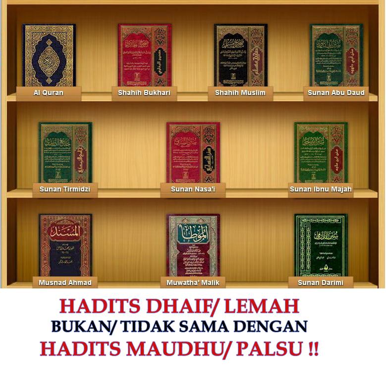 Hukum Penggunaan Hadits Dhaif Dlaif Lemah Generasi Salafus Sholeh