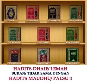 Hadits Lemah vs Hadits Palsu