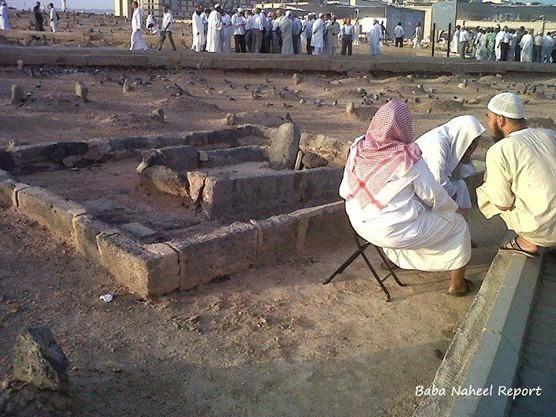 Maqam Saidina Ibrahim radiyaLlahu 'anhu (anak Rasulullah sallallahu 'alaihi wasallam di baqi') - Madinah al Munawwarah