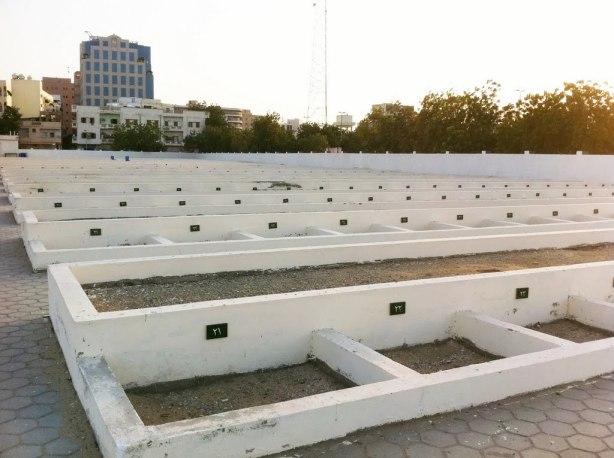 Kuburan Massal di Jeddah di dalamnya jg ada maqbarah Siti Hawa