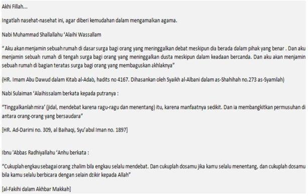 Scan Nasihat dari Salafy