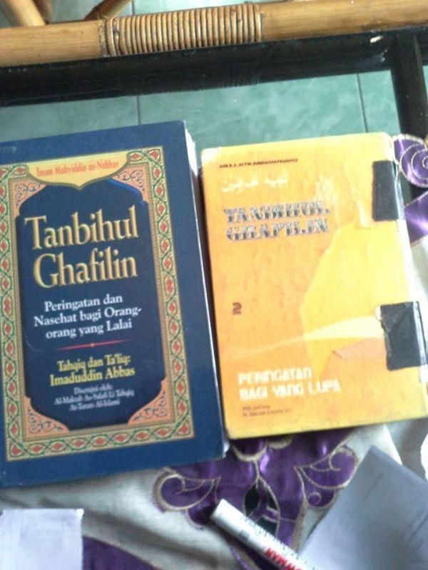 Ghofilin tanbihul ebook kitab