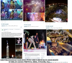 Festival Seni & atraksi di Arab Saudi menyambut Idul Fitri 1436 H