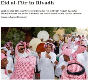 Idul Fitri di Arab Saudi