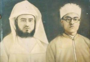 Sayyid Ahmad Siddiq al-Ghumari(abang-kiri) & Sayyid Abdullah al-Ghumari (kanan)