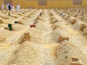 Ziarah kubur setelah idul Fitri di Saudi