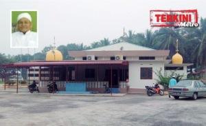 KUALA PILAH 24 September 2015. (SBN912J / NS7443Y) Masjid Kampung Temeris, Kuala Pilah. STR/Amran Yahya