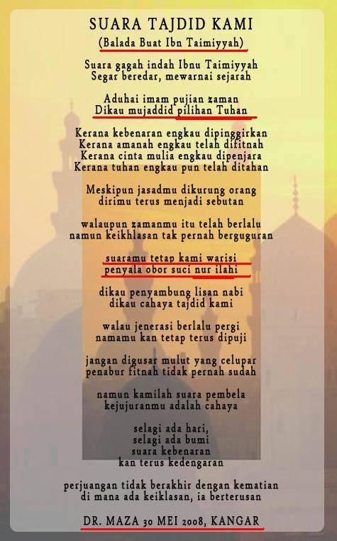 Salafy Menuhankan Ulama