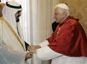 Raja Abdullah (Saudi) & Paus