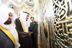 Raja Saudi Ziarah Kubur Nabi saw