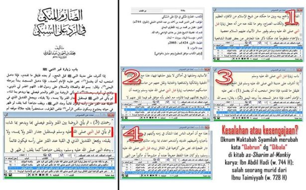 Tahrif Kitab oleh Salafy