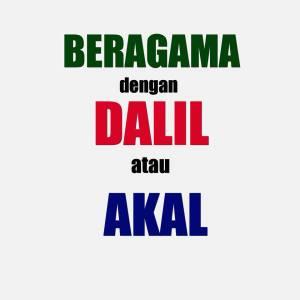 Beragama dengan Dalil