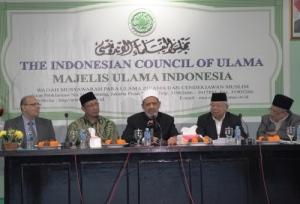 MUI-Mentri Agama & Grand Syekh Al Azhar Prof. Dr. Syekh Ahmad Muhammad Ahmad Ath-Thayyeb