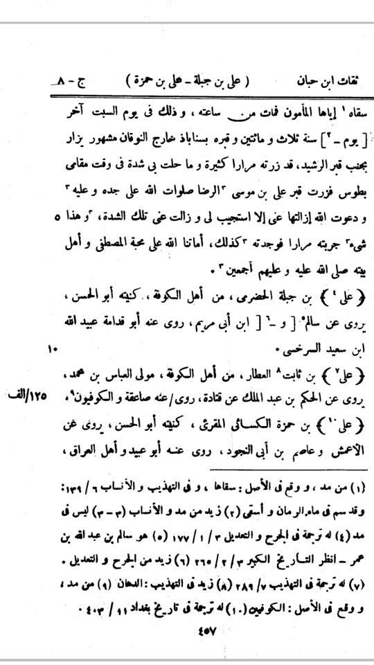 Ats-Tsiqaat-Imam Ibnu Hibban 8-457
