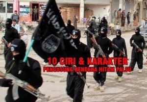 Pengusung Bendera HITAM PALSU - ISIS ISIL